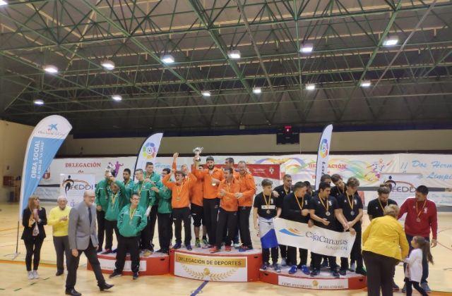 Aidemar CFS Pinatar azúl se proclama Campeón de España de Fútbol Sala en la categoría 1ª división adaptada - 1, Foto 1