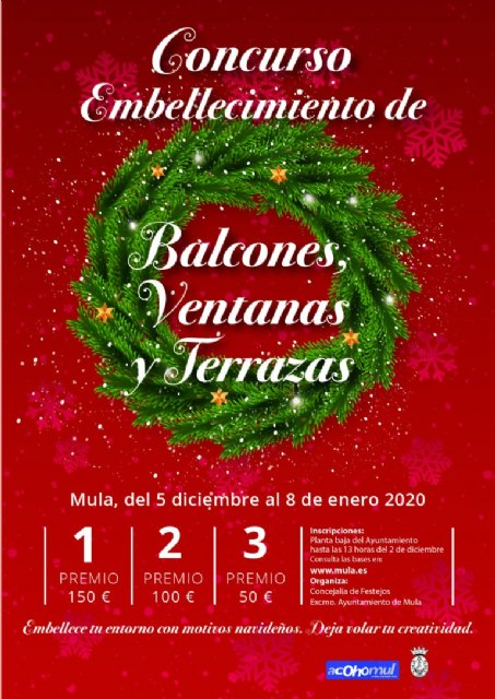Mula Concurso De Embellecimiento De Balcones Ventanas Y