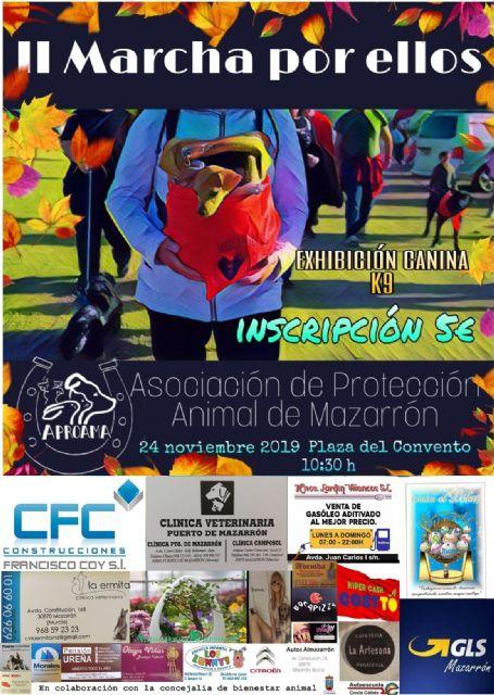 APROAMA celebra este domingo su II marcha Por ellos con exhibición canina y sorteo de regalos - 2, Foto 2