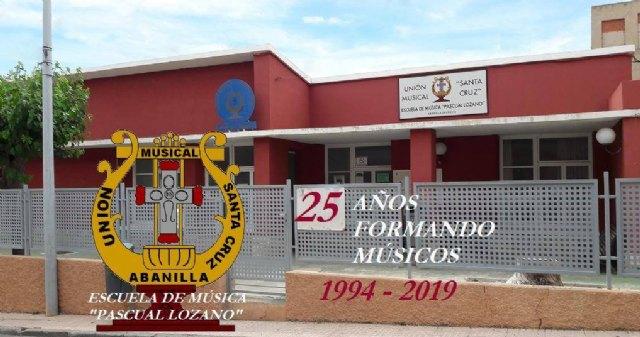 25 años celebrando Santa Cecilia en la Unión Musical Santa Cruz de Abanilla - 1, Foto 1