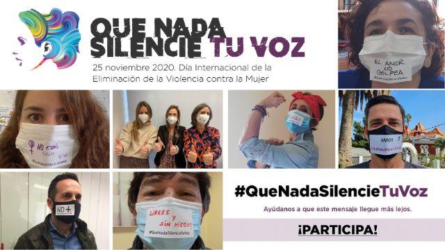 La Fundación Laboral de la Construcción lanza la campaña #QueNadaSilencieTuVoz, con motivo del Día Internacional de la Eliminación de la Violencia contra la Mujer - 1, Foto 1