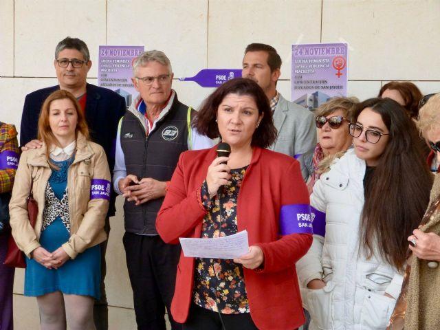 El PSOE de San Javier pide que el Ayuntamiento se sume al sistema VIOGEN de protección de víctimas de violencia de género - 1, Foto 1