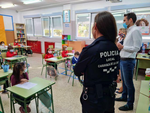 Con la puesta en marcha de dos policías tutores, el Ayuntamiento de Caravaca vela por la protección de los derechos de los menores y la prevención de conductas nocivas o ilícitas - 4, Foto 4