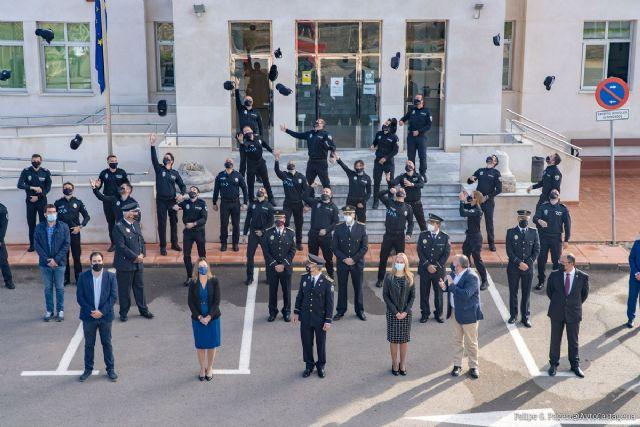26 nuevos agentes de Policía Local de la Región se gradúan en la ESPAC de Cartagena - 1, Foto 1