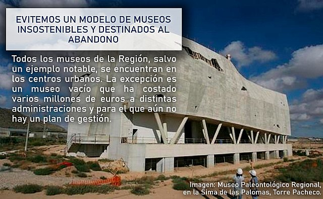 Winning Totana asks to avoid an unsustainable model of museums destined for abandonment, Foto 1