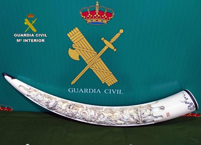 La Guardia Civil decomisa varias piezas de marfil tallado - 1, Foto 1