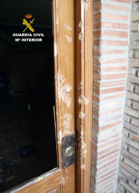 La Guardia Civil detiene a un experimentado delincuente relacionado con la tentativa de robo en una vivienda de Alguazas - 2, Foto 2