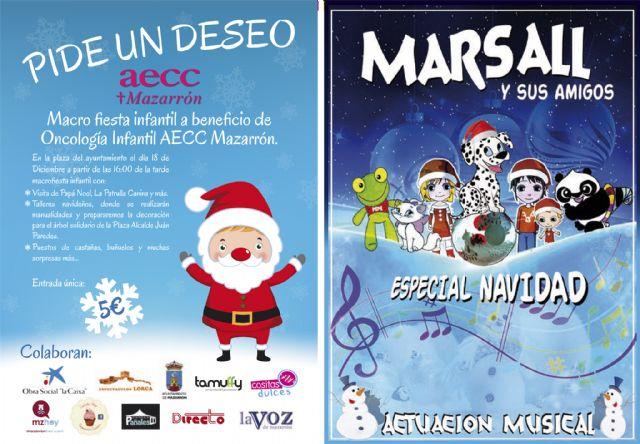 La fiesta solidaria de la AECC destinada a beneficio de oncología infantil se celebrará este martes 20 de diciembre, Foto 1