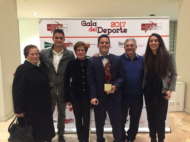 El pachequero Enrique Siscar entre los mejores deportistas de 2017 - 2, Foto 2