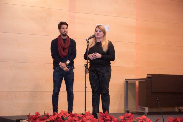 280 escolares cantan a la Navidad en el Certamen de Villancicos, Foto 4