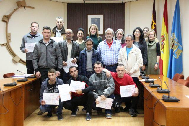 13 personas finalizan con éxito el programa de formación para el empleo
