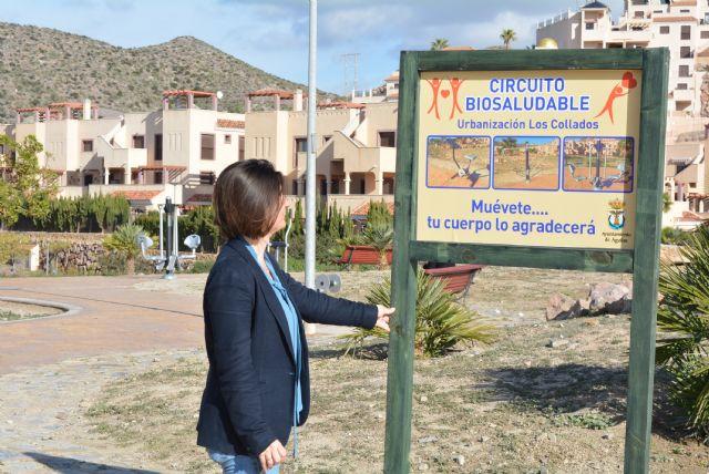 Los Collados inauguran una nueva zona biosaludable - 1, Foto 1