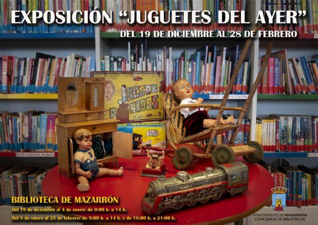 La biblioteca de Mazarrón alberga la exposición