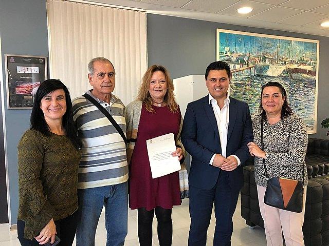 El Ayuntamiento de San Javier y AFAL colaboran en la mejora de la calidad de vida de pacientes y familias afectadas por el Alzheimer - 1, Foto 1