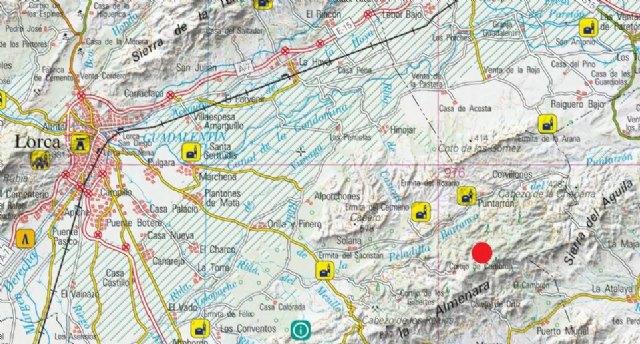 Protección Civil de Totana informa que esta tarde se ha producido un terremoto de 2