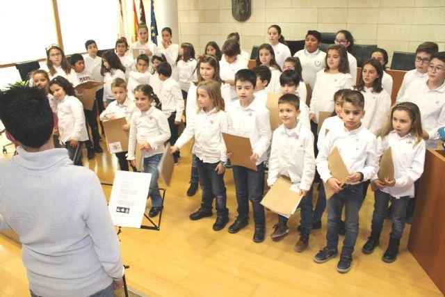 Se presenta el nuevo Coro del CEIP Santiago