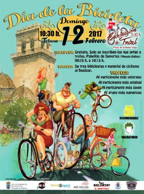 El Día de la Bicicleta se celebrará este domingo, 12 de febrero, Foto 1