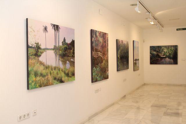 El artista Rafael Terrés expone su obra en Puerto Lumbreras - 2, Foto 2