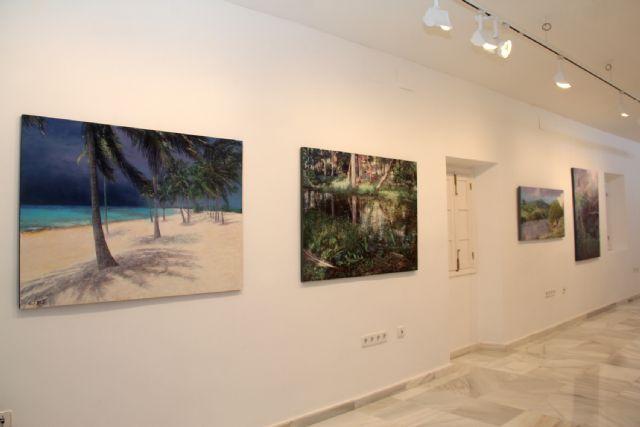 El artista Rafael Terrés expone su obra en Puerto Lumbreras - 3, Foto 3