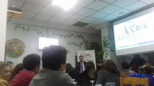 Ayer sábado tuvo lugar la presentación del partido Democracia Plural en la localidad de Fuente Álamo - 3, Foto 3