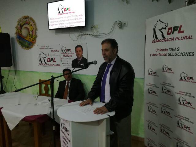Ayer sábado tuvo lugar la presentación del partido Democracia Plural en la localidad de Fuente Álamo - 4, Foto 4