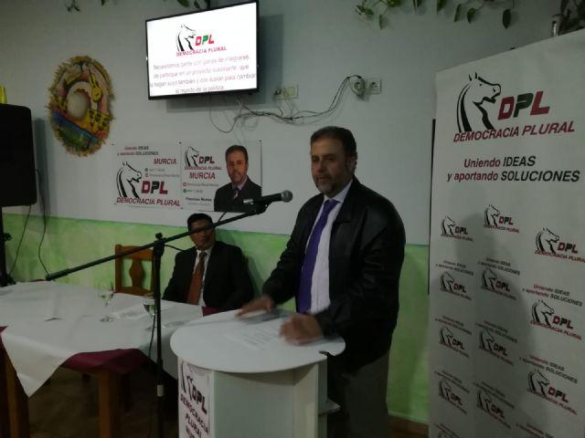 Ayer sábado tuvo lugar la presentación del partido Democracia Plural en la localidad de Fuente Álamo - 5, Foto 5