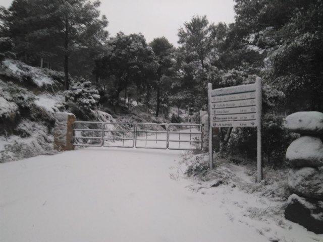 La Agencia Estatal de Meteorología actualiza la alerta emitiendo aviso nivel naranja por probabilidad de nevadas en la comarca del Guadalentín