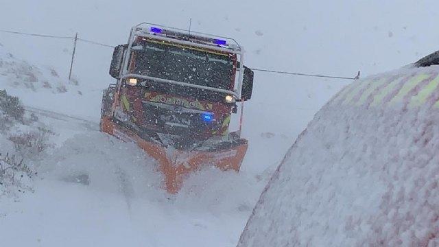 El 1-1-2 ha gestionado hasta las 20.30 h. un total de 514 incidentes relacionados con el temporal de nieve, viento y lluvia