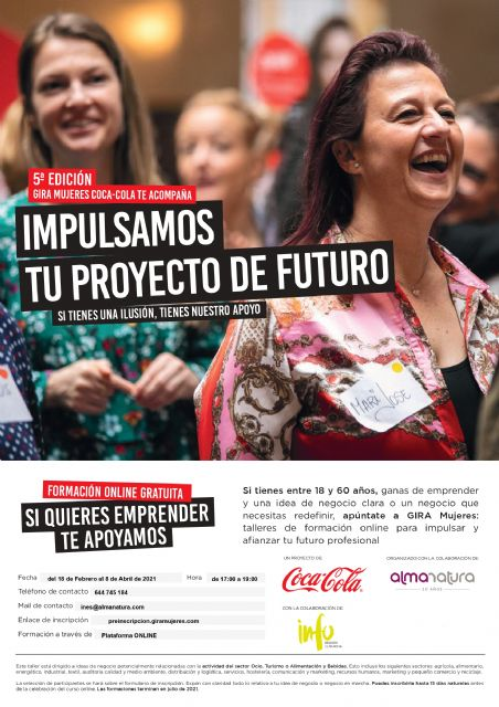 5ª Edición del Proyecto GIRA MUJERES COCA-COLA - 1, Foto 1