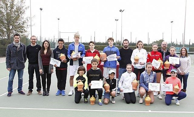 """Entrega de premios del XVII Open Promesas de Tenis """"Ciudad de Totana"""", Foto 1"""