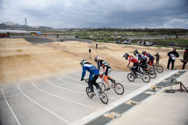 La élite mundial del BMX compite en Mazarrón, Foto 2