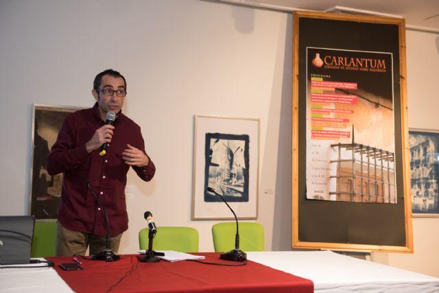 Miguel Rubio abre las jornadas Carlantum con su visión de la arquitectura de Mazarrón en los siglos XIX y XX, Foto 1