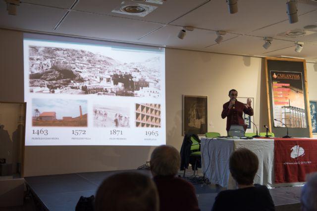 Miguel Rubio abre las jornadas Carlantum con su visión de la arquitectura de Mazarrón en los siglos XIX y XX, Foto 2
