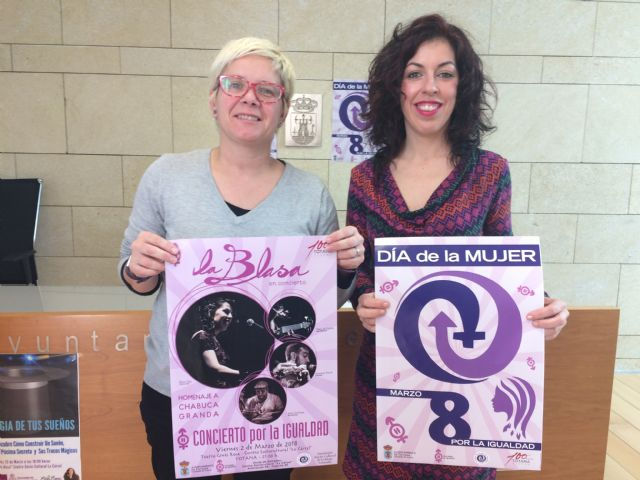 """La Blasa"" will star in the so-called ""Concert for Equality"""
