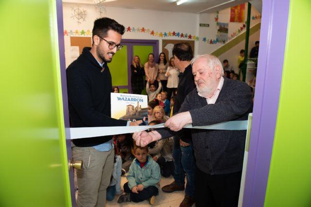 El CEIP Ginés García de Mazarrón ha inaugurado hoy su nueva biblioteca - 1, Foto 1