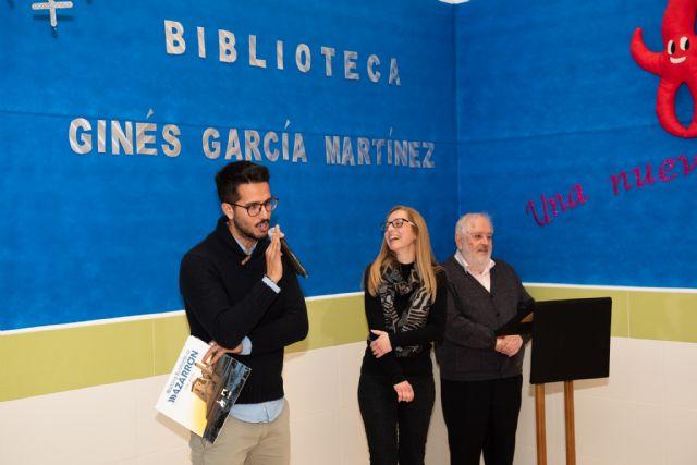 El CEIP Ginés García de Mazarrón ha inaugurado hoy su nueva biblioteca - 5, Foto 5