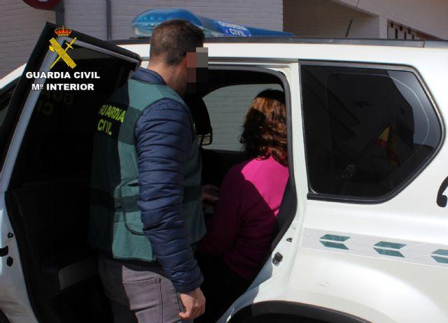 La Guardia Civil detiene a una vecina de Mazarrón por simular un robo en su vivienda
