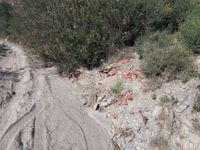 El Ayuntamiento solicita a la Confederación Hidrográfica del Segura la limpieza y vigilancia de los cauces que atraviesan el término municipal de Puerto Lumbreras - 1, Foto 1