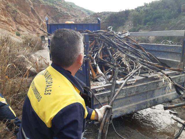 El Ayuntamiento solicita a la Confederación Hidrográfica del Segura la limpieza y vigilancia de los cauces que atraviesan el término municipal de Puerto Lumbreras - 4, Foto 4