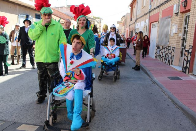 Totana celebrates the II Adapted Carnival with the participation of users of the Disability Day Centers and five guest centers of the region, Foto 2