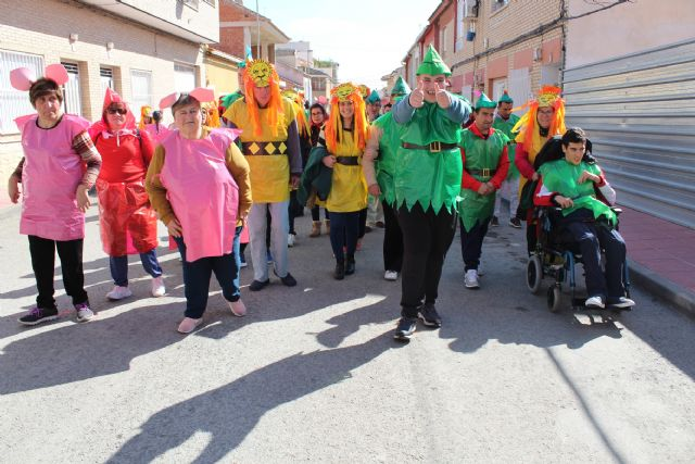 Totana celebrates the II Adapted Carnival with the participation of users of the Disability Day Centers and five guest centers of the region, Foto 5