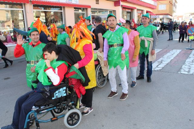 Totana celebrates the II Adapted Carnival with the participation of users of the Disability Day Centers and five guest centers of the region, Foto 6