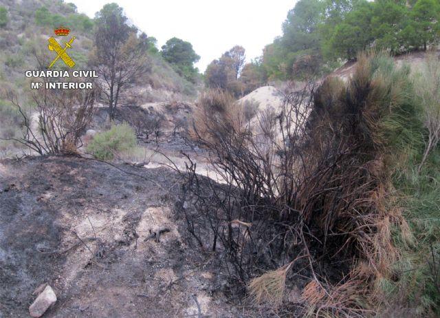La Guardia Civil esclarece un incendio forestal ocurrido en Ojós con la investigación de un agricultor - 4, Foto 4