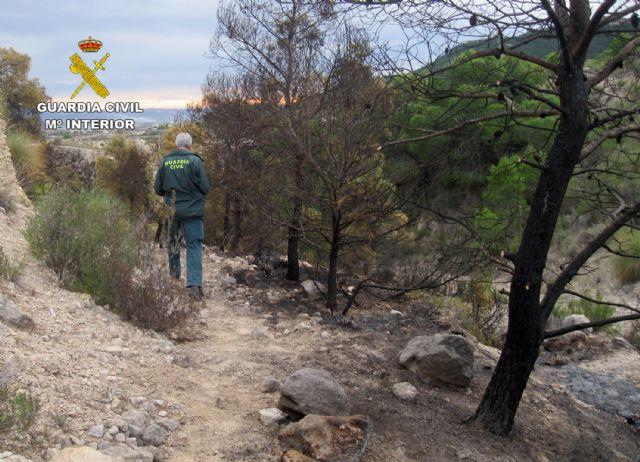 La Guardia Civil esclarece un incendio forestal ocurrido en Ojós con la investigación de un agricultor - 5, Foto 5
