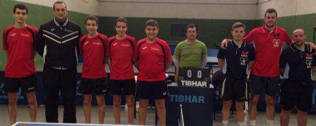 Club Totana tm. 2ª nacional. Victoria y derrota en el dobles desplazamiento - 2, Foto 2