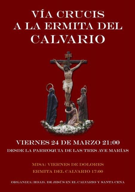 La Hermandad de Jesús en el Calvario celebra este viernes su tradicional Vía Crucis, Foto 1