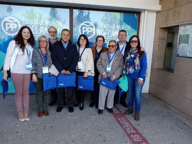 La presidenta y portavoz del PP de Totana, Isabel Maria Sánchez Ruiz, es designada nueva Secretaria Ejecutiva de Artesanía y Comercio del PP de la Región de Murcia, Foto 2