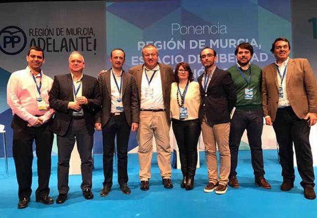 La presidenta y portavoz del PP de Totana, Isabel Maria Sánchez Ruiz, es designada nueva Secretaria Ejecutiva de Artesanía y Comercio del PP de la Región de Murcia, Foto 5