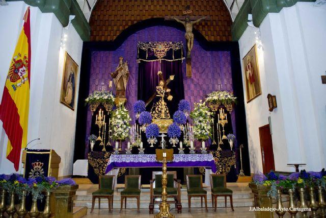 La Cofradia Marraja llena Santo Domingo en la celebracion de su tradicional Miserere - 1, Foto 1