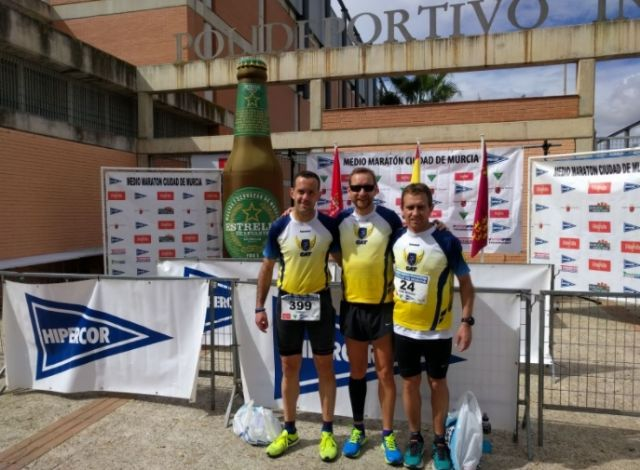 The Athletics Club Totana was present at the Murcia Half Marathon
